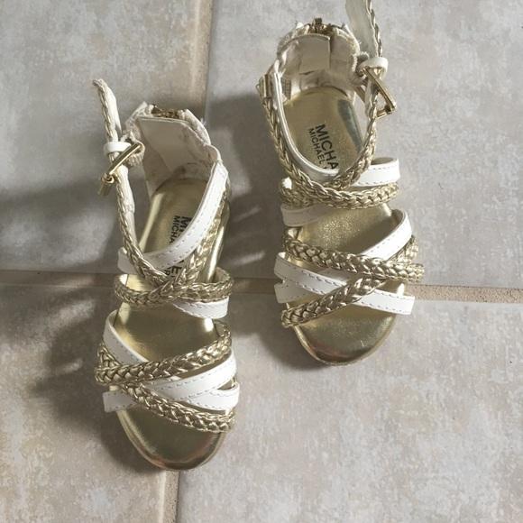76b8dc89ae Michael Kors Shoes | Girls Mk Gladiator Sandals | Poshmark